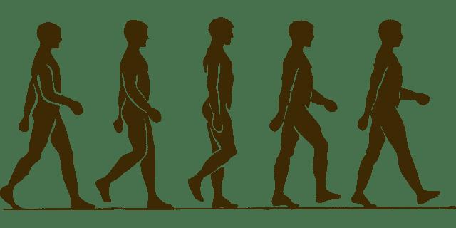 Icon of 5 men walking
