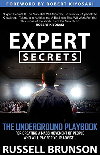"""Book cover of """"Expert Secrets"""" by Russell Brunson"""