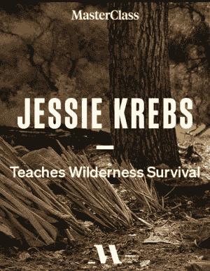 Logo of Jessie Krebs' wilderness survival masterclass