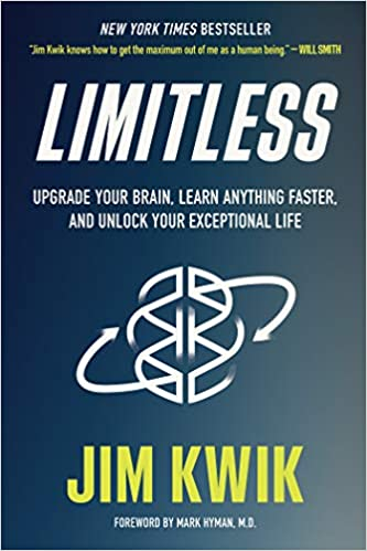 """Book cover of """"Limitless"""" by Jim Kwik"""