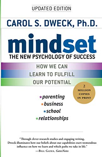 """Book cover of """"Mindset"""" by Carol Dweck"""