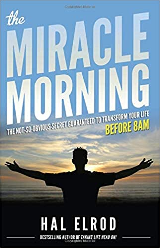 """Book cover of """"Miracle Morning"""" by Hal Elrod"""