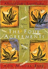 """Book cover of """"The Four Agreement"""" by Don Miguel Ruiz"""