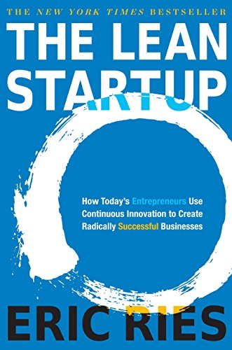"""Book cover of """"The Lean Startup"""" by Eric Ries"""
