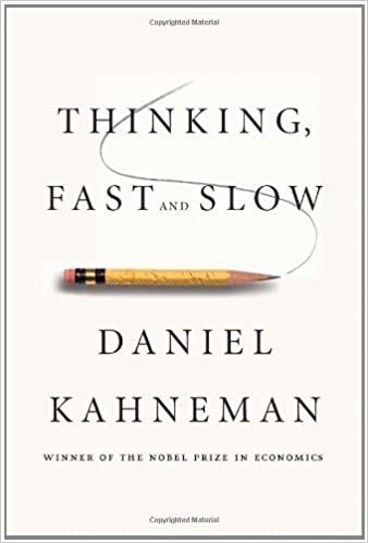 """Book cover of """"Thinking, Fast and Slow"""" by Daniel Kahneman"""