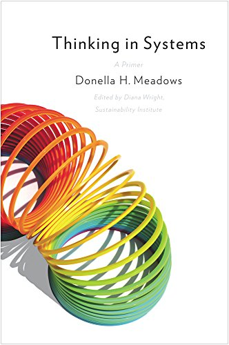 """Book cover of """"Thinking in Systems"""" by Donella Meadows"""