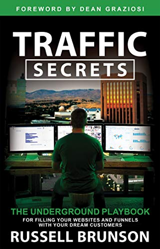 """Book cover of """"Traffic Secrets"""" by Russell Brunson"""